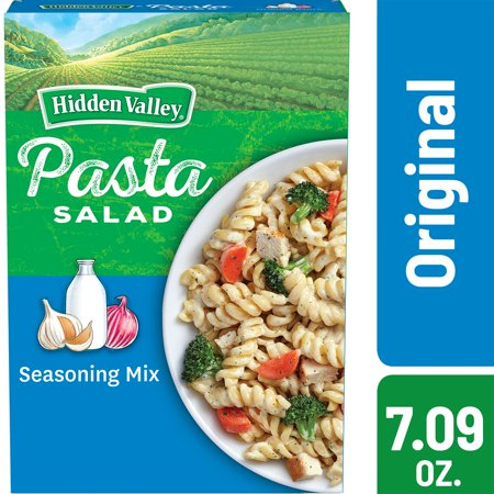 (4 Pack) Hidden Valley Original Ranch Pasta Salad - 7.09 (Valley Pasta)