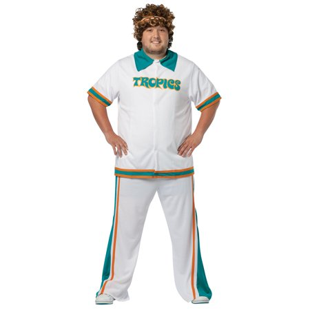 Semi-Pro Warm Up Suit Plus Adult Halloween Costume - Will Ferrell Semi Pro Costume