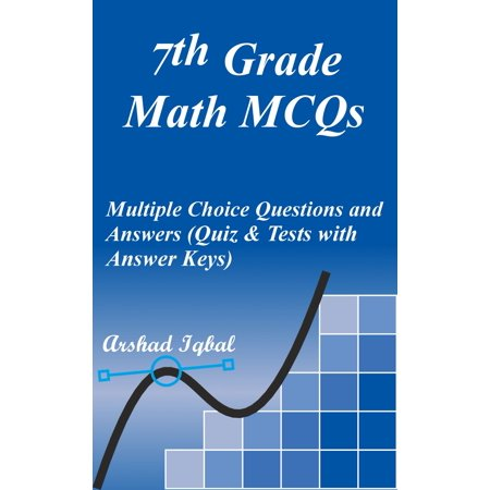 7th Grade Math MCQs: Multiple Choice Questions and Answers (Quiz & Tests with Answer Keys) - (Core Connections Course 1 Answer Key Chapter 7)