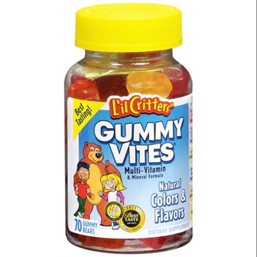 L'il Critters Gummy Vites 70 Each (Pack of 2)