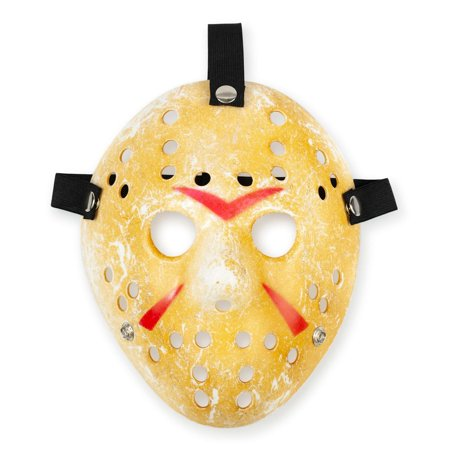 Friday the 13th Scary Costume| Jason Voorhees Mask Classic - Halloween Masks Scary Printable
