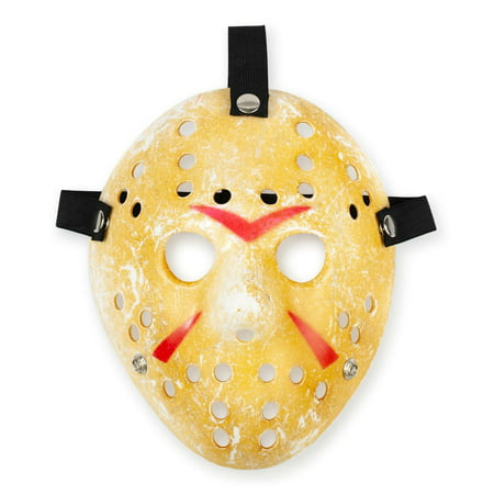 Friday the 13th Scary Costume| Jason Voorhees Mask Classic Version (Scary Hockey Mask)