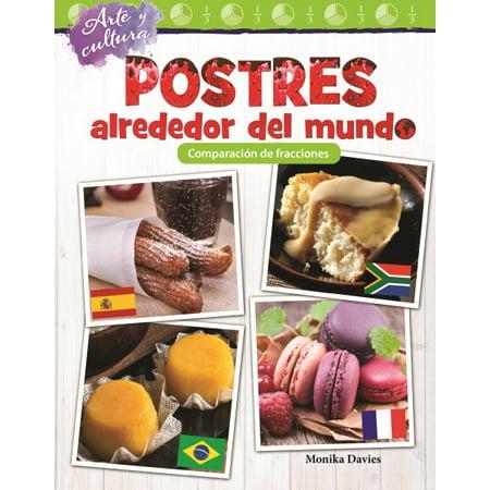 Arte y Cultura : Postres Alrededor del Mundo: Comparacion de Fracciones (Art and Culture: Desserts Around the World: Comparing Fractions) (Spanish Version) (Grade 3)
