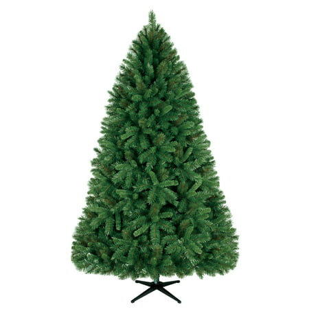 Holiday Time Unlit 7.5' Donner Fir Artificial Christmas ...