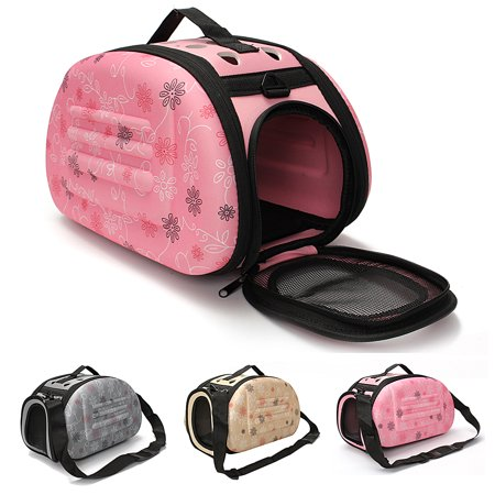 Pet Carriers For Dog & Cat,Portable Pet Small Dog Cat Sided Carrier Travel Tote Shoulder Bag Cage Kennel Suitable For Small Dogs And Cats. (Pink Pet Carrier)