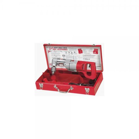 Milwaukee 3002-1 Electricians Kit 7 Amp 1/2-Inch Right Angle Drill with D-Handle