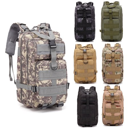 Zimtown 30L Waterproof Tactical Backpack, Small 3 Day Millitary Assault Molle Army 511 Rucksack, Kids / Women Oxford fabric School Bookbag, for Outdoor Hiking Camping Hunting Trekking Travel