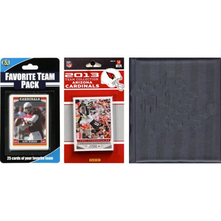 C&I Collectables NFL Arizona Cardinals Licensed 2013 Score Team Set and Favorite Player Trading Card Pack Plus Storage Album](Arizona Trading Company)