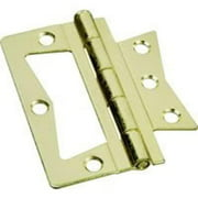 "Brainerd 3-1/2"" Brass Non-Mortise Door Hinge 31654 Brainerd 31654 022788316548"