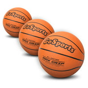 """GoSports 5"""" Mini Basketball 3-Pack with Premium Pump - Perfect for Over-the-Door Mini Hoops Sets and Training"""