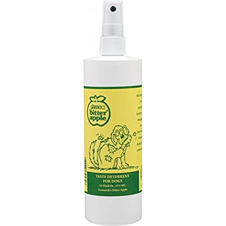 Yorkshire Bitter - Grannick's Bitter Apple For Dogs Spray Bottle, 16 Ounces