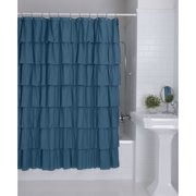 Ruffles Shower Curtain by Better Homes & Gardens Image 1 of 4