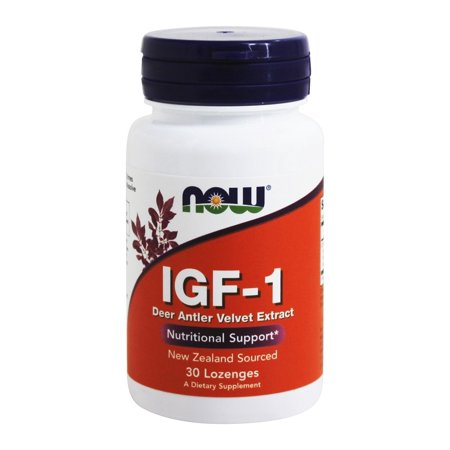 NOW Foods - IGF-1 Deer Antler Velvet Extract - 30 (Best Deer Antler Velvet Extract)