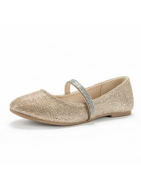 Weestep Girls Toddler Kids Ballet Flat Dress Mary Jane Shoes