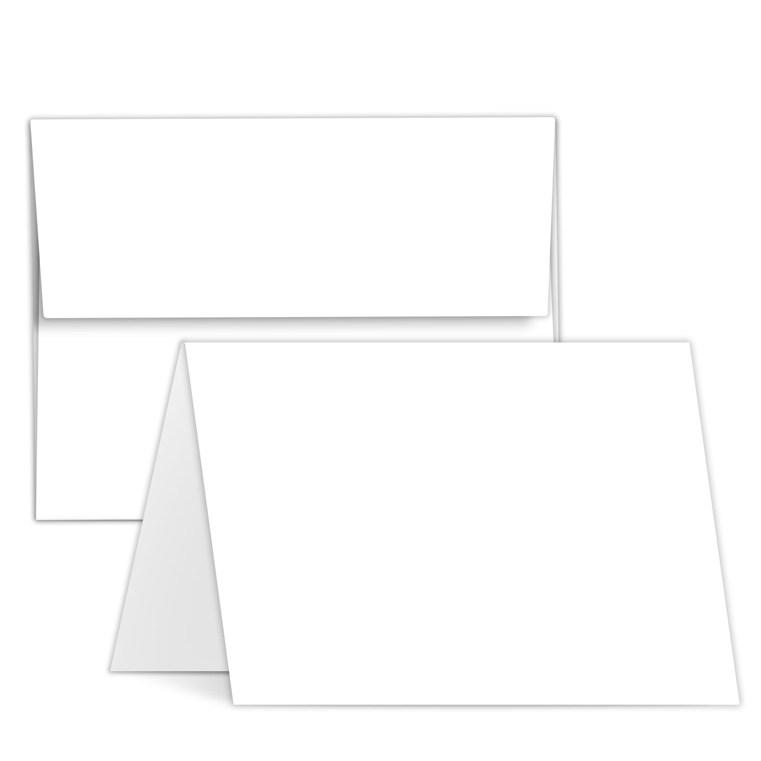 6 in a set 5x7 pick any artwork Custom Greeting Cards
