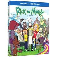 Rick and Morty on Blu-ray