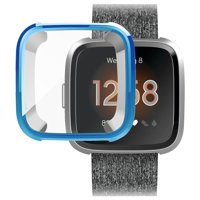 TSV Silicone Protective TPU Shell Case Screen Protector Frame Cover For Fitbit Versa / Versa 2 / Versa Lite Watch