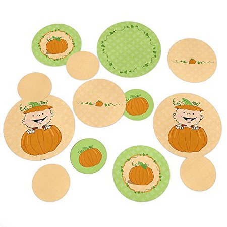 Little Pumpkin Caucasian - Party Table Confetti - 27 Count for $<!---->