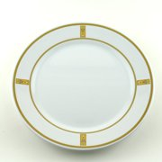 Galleyware Company Decorated 10'' Melamine Fish Non-skid Dinner Plate (Set of 6)