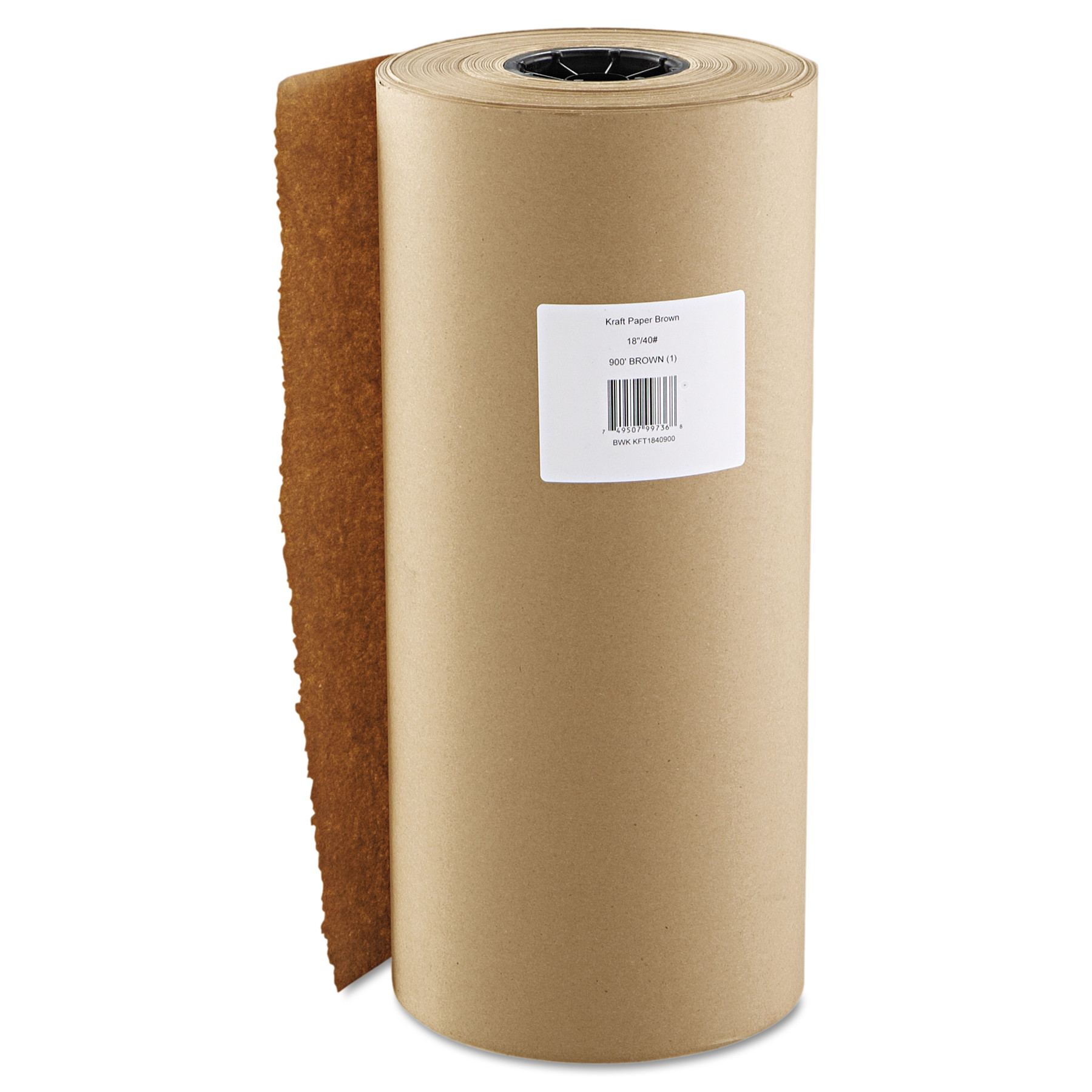boardwalk kraft paper, 18 in x 900 ft, brown -bwkk1840900 - walmart