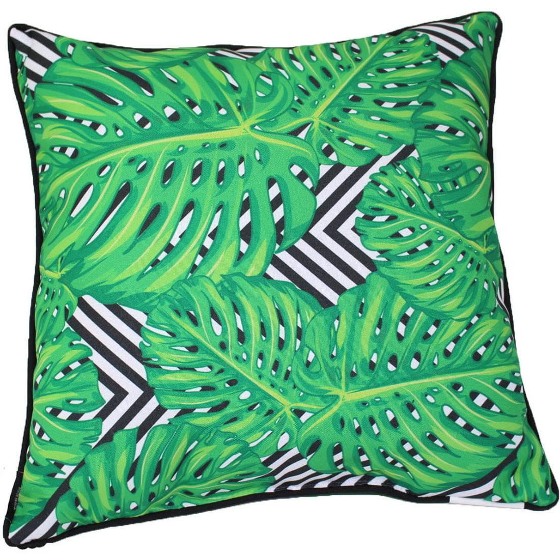 "lava Geo Mon Indoor Outdoor Pillow, 18"" x 18"" by Lava"