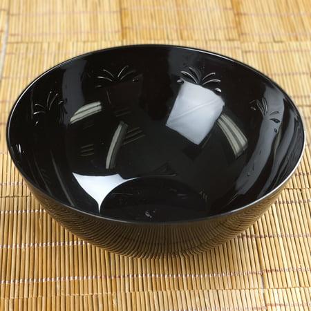 Pumpkin Plastic Bowl - BalsaCircle 4 pcs 7.5