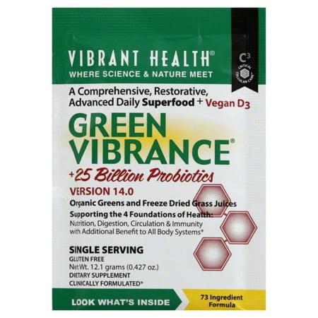 Vibrant Health Vibrant Health  Green Vibrance, 0.427 - Vibrance Series