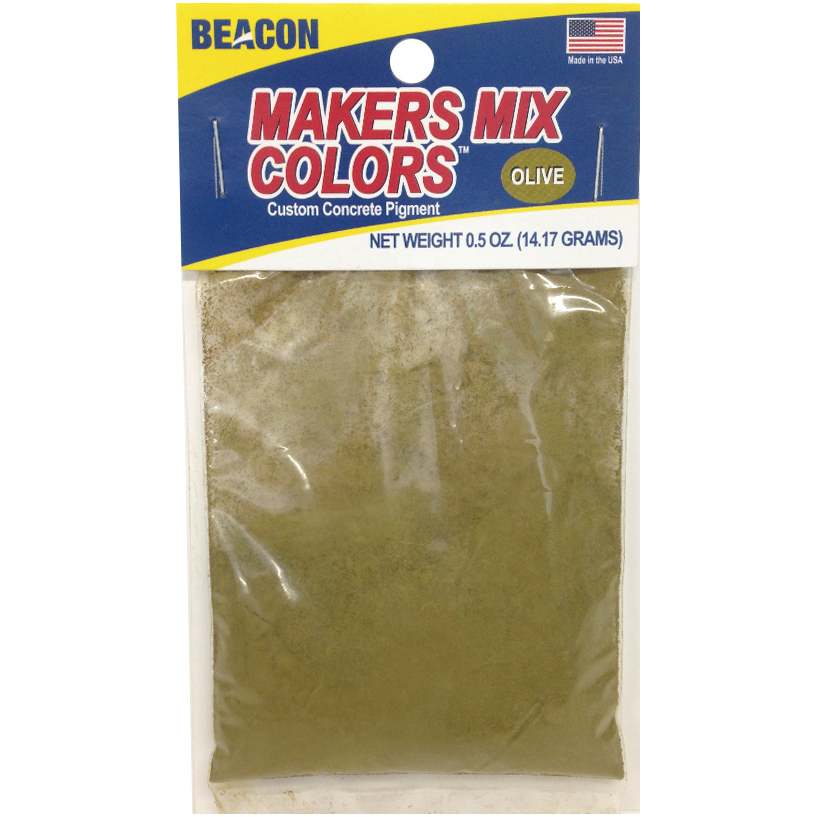 Makers-Mix Stepping Stone Colorant, .5 oz, Olive