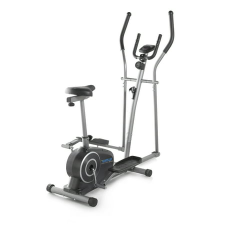 Weslo Momentum G 3.2 Bike and Elliptical Hybrid Trainer with LCD Window Display and 250 lb. Weight Capacity