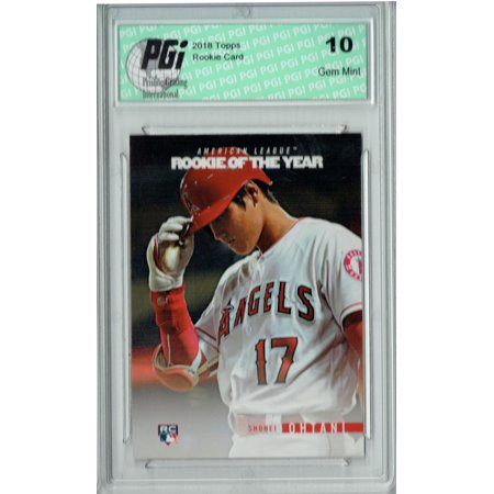 Shohei Ohtani 2018 Topps Rookie of the Year #ROTY2 SP Rookie Card PGI