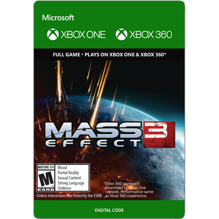 Xbox One Mass Effect 3 (email delivery) (Best Assault Rifle In Mass Effect 3)