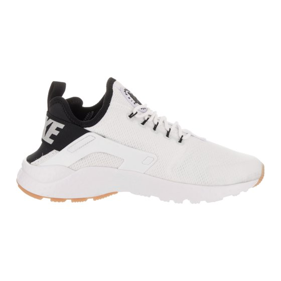 f3320aaf22ebd Nike - Womens Nike Air Huarache Run Ultra White Black Gum Yellow ...