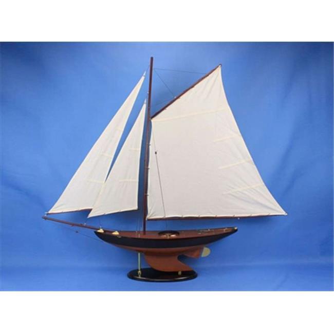 Handcrafted Model Ships Newport Sloop 50 Newport Sloop 50 in. Decorative Sail Boat by Handcrafted Model Ships