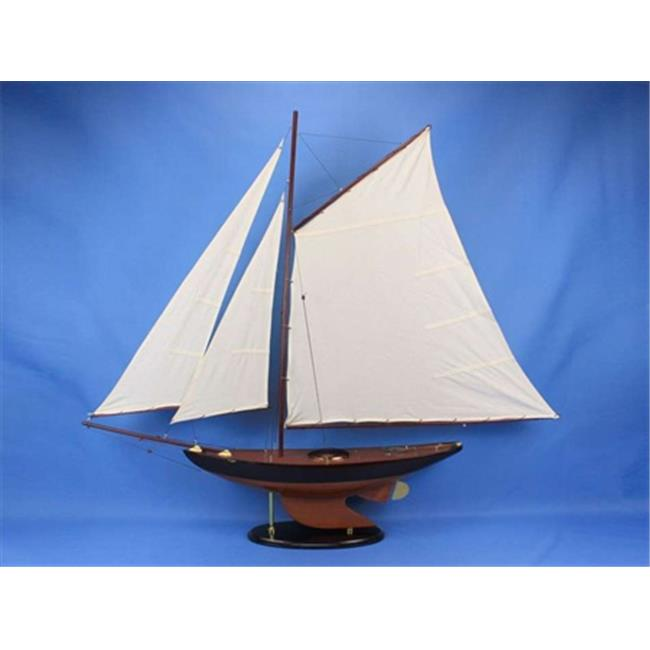 Hand Craft Model Newport Sloop 50 Newport Sloop 50 in. De...