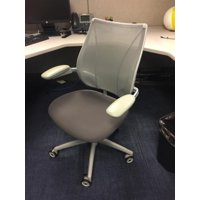 Humanscale Liberty Chair Gray Fully Adjustable Model, Executive Office Chair