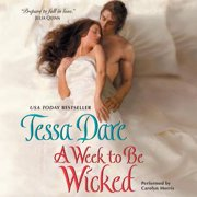 A Week to Be Wicked - Audiobook