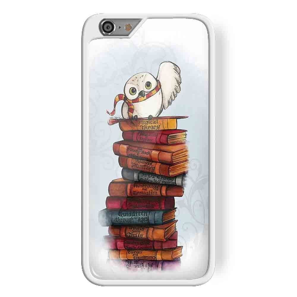 Ganma Owl Hedwig Harry Potter Case For iPhone and Case For Samsung Galaxy Case (Case For Samsung galaxy S5 White)