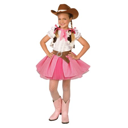Cowgirl Cutie Child Costume - Cowgirl Halloween Costumes For Girls