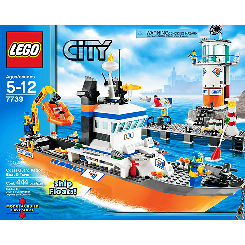 LEGO City - Patrol Boat & Tower