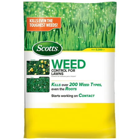Scotts Weed Control for Lawns (Northern), 14 lb., Kills Dandelion
