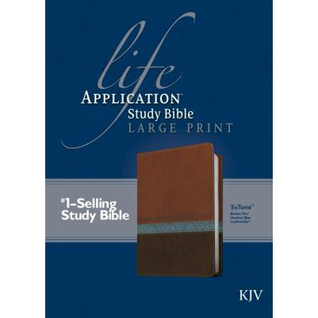 KJV Life Application Study Bible, Second Edition, Large Print (Red Letter, LeatherLike,
