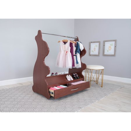 Ace Baby Furniture Rabbit Mobile Dress-Up Clothes; Shoes Organizer