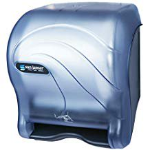 San Jamar T8400TBL Smart Essence Classic Hands Free Paper Towel Dispenser Arctic Blue Touch Free Towel Dispenser