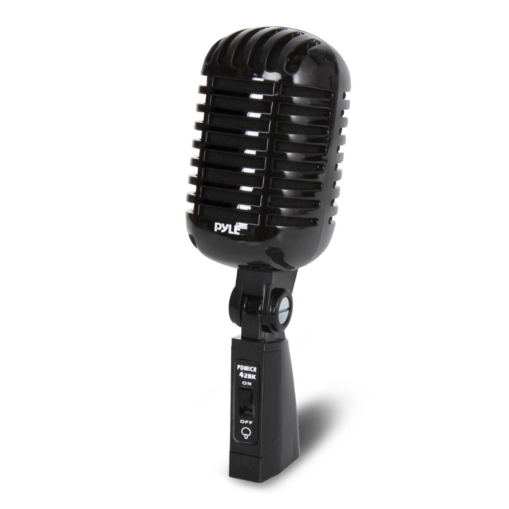 3.5mm Desktop Classical Vintage Retro Microphone Mic For Computer Cheap Fast PC
