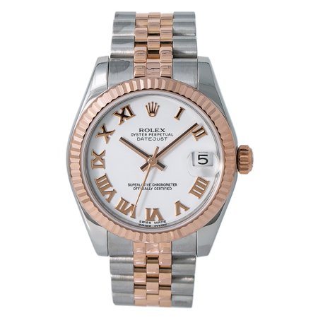 Pre-Owned Rolex Datejust 178271 Steel 31mm Women Watch (Certified Authentic & (Rolex Datejust Lady 31 Rose Gold Price)