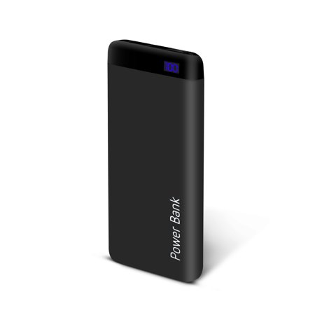 Auto Drive™ 10,000mAh Power Bank with 2 USB A Ports and 1 Micro USB Port
