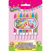 Shopkins Cake Topper and Birthday Candles
