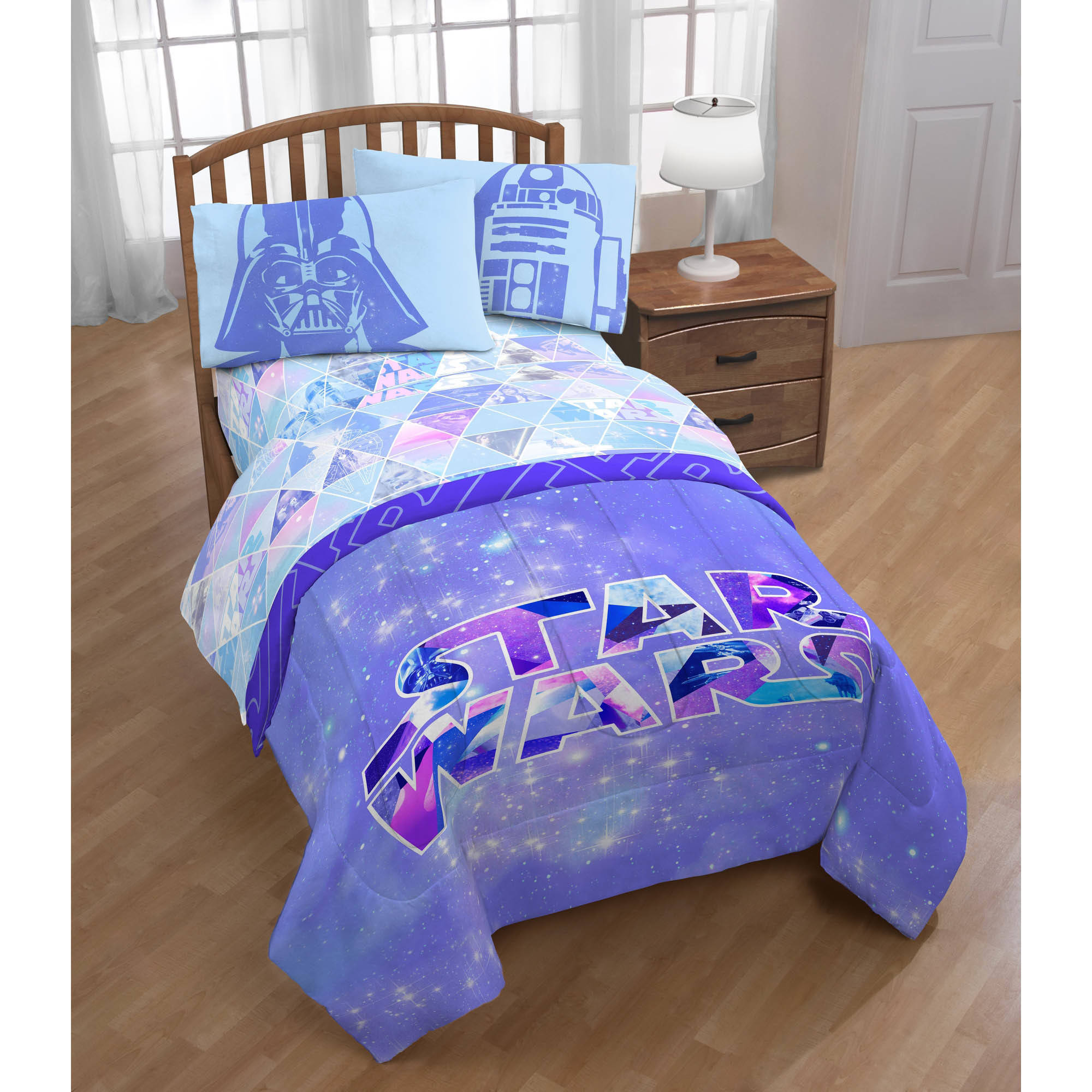 Star Wars Girl Bed In A Bag Twin Size
