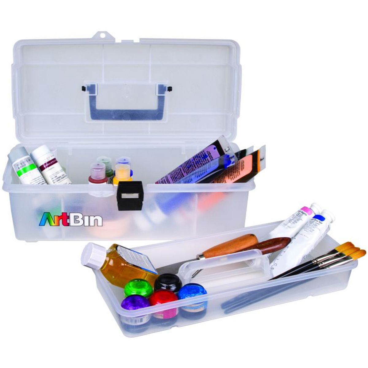 "ArtBin Essentials Lift Out Tray Box, 14"""
