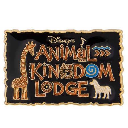 Disney Parks Animal Kingdom Lodge Pin New with Card